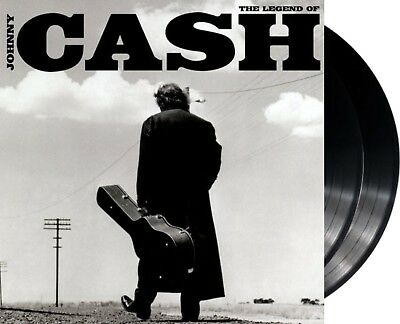 "Johnny Cash ""the legend of"" 180gr Vinyl 2LP + MP3 NEU Album 2014 Gatefold Sleeve"