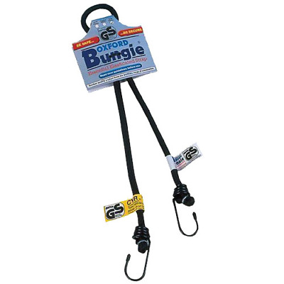 "Oxford Products Bungee Strap - Bungie 9mm x 450mm/18"" (OF136)"