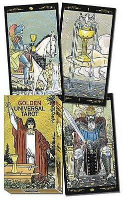 Golden Universal Tarot Deck by Lo Scarabeo (English) Free Shipping!