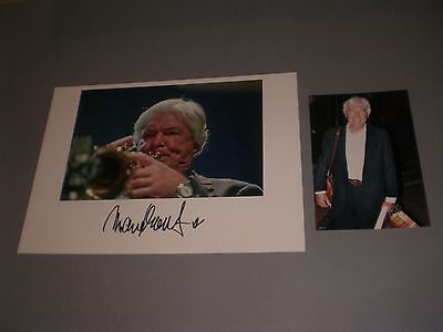 Manfred Schoof Jazz  signed signiert Autogramm auf 20x28 Foto in person