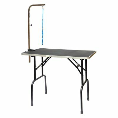 """Go Pet Club Pet Dog Grooming Table w/Arm, 30"""" GT-101 Dog Furniter NEW"""