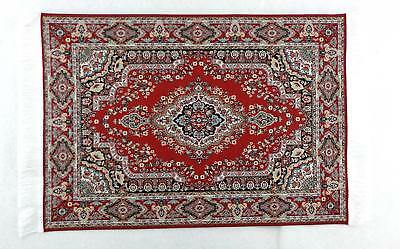 Dolls House Miniature Flooring Accessory Large Turkish Woven Rug Carpet C
