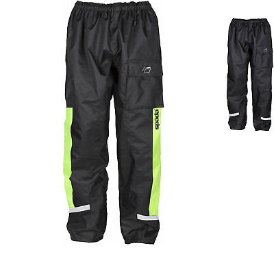 Spada Aqua Motorcycle Trousers Motorbike Waterproof Windproof Over Pants Unisex
