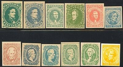 Csa Complete Set Of 12 Springfield Reprints