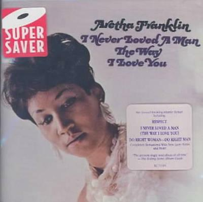 Aretha Franklin - I Never Loved A Man The Way I Love You New Cd