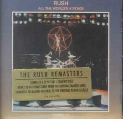 Rush - All The World's A Stage [Remaster] New Cd