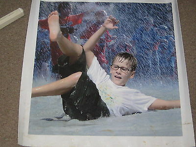 2010 National Jamboree Scout Sliding Vinyl Poster    30 by 30        cp