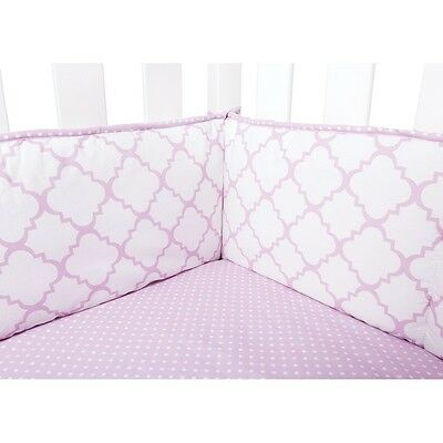 Trend Lab 101748 Orchid Bloom Crib Bumpers  NEW