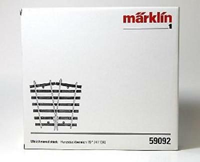 NEW MARKLIN 59092 SCALE 1 45 MM TURNOUT END with FROG 15° (H1104)