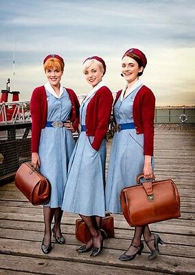 """Call the Midwife [Helen George & Cast] 8""""x10"""" 10""""x8"""" Photo 58867"""