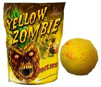 Radical Quantum Yellow Zombie Pineapple Boilies 16mm 1kg