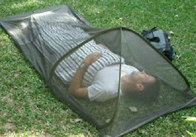 Impregnated mosquito repellent Pop Up Bed Net, EPA approved, ZIKA.