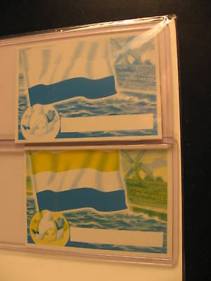 1956 Topps Flags of the World Proof Cards Holland