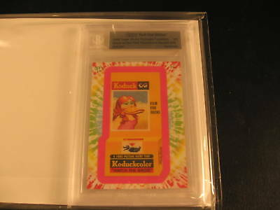 2008 Topps Vault 1st Edition WP Flashback #19 Card BGS