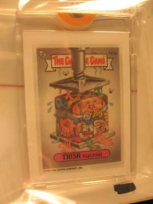 1990 Topps The Garbage Gang Unpublished Proof Set #163A