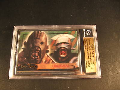 2006 Topps Vault Lord of Rings Proof #61 BGS 1/1