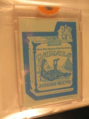 1973 Topps Wacky Packages Blue Line Proof Camals