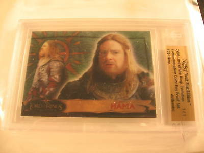 2006 Topps Vault Lord of the Rings Proof #26 BGS 1/1