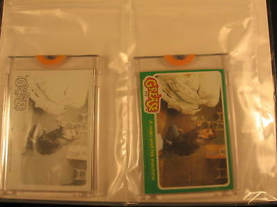 1978 Topps Grease Movie (2) Proof Card Set #117