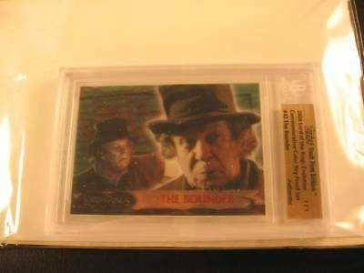 2006 Topps Vault Lord of the Rings Proof #42 BGS 1/1