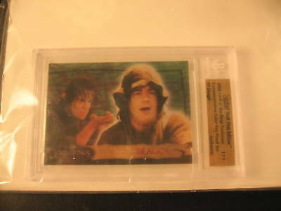 2006 Topps Vault Lord of the Rings Proof #7 BGS 1/1
