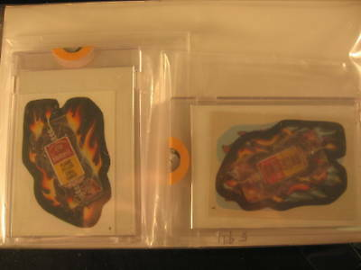 1986 Topps Wacky Packages Album (2) Proof Set #42