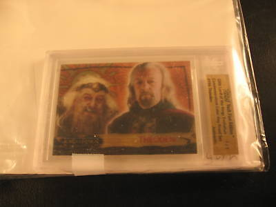 2006 Topps Vault Lord of the Rings Proof #19A BGS 1/1