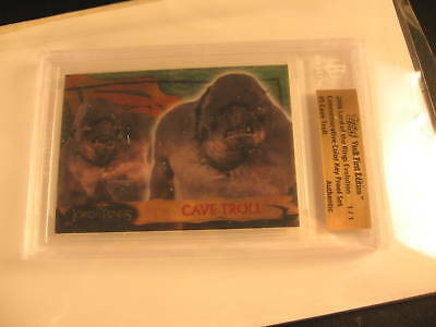 2006 Topps Vault Lord of the Rings Proof #5 BGS 1/1