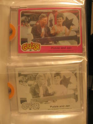 1978 Topps Grease PROOF (2) Card Set Putzie & Jan #28