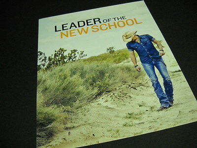 JASON ALDEAN is Leader Of The New School 2012 PROMO DISPLAY AD
