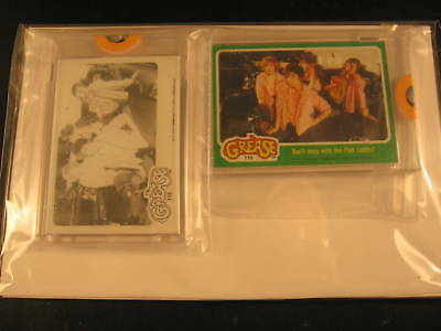 1978 Topps Grease Movie (2) Proof Card Set #115