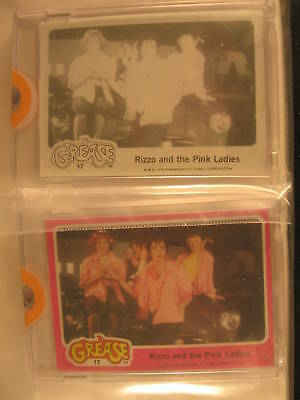 1978 Topps Grease PROOF (2) Card Set #17