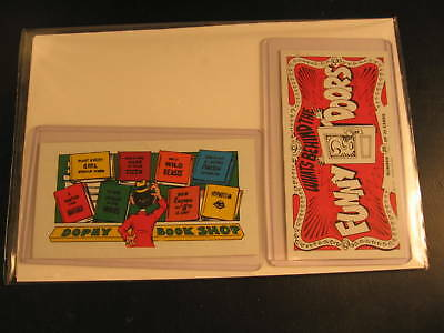 1970 Topps Funny Doors (2) Proof Cards #20