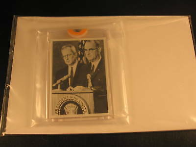 1964 Topps Johnson vs Goldwater Proof Card #11A