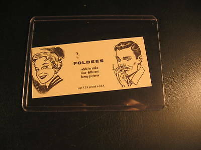 1949 Topps Funny Foldees Proof Card #220
