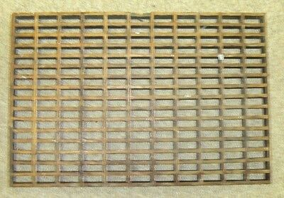 "Antique Vintage WOODEN OAK   Floor/Wall/Vent/AIR Grate, 24"" X 16"" 1 1/4"""