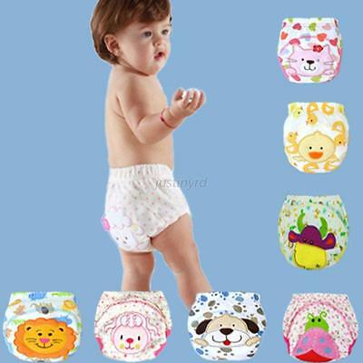 Kids Baby Boy Girls Soft Cotton Panties Briefs Diaper Cover Training PP Pants