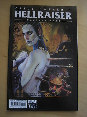 CLIVE BARKER 's HELLRAISER MASTERPIECES #s 1, 2 & 3. BOOM! 2011