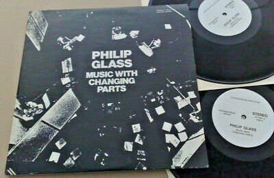 Philip Glass Music With Changing Parts 1971 Us Chatham Square 1001/2 2Lp