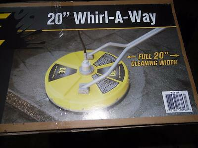 """Be Whirl-A-Way 20"""" Rotary Flat Surface Cleaner Cleans Up To 70% Faster"""