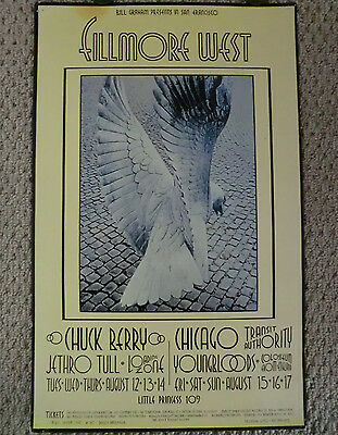 Bg #187 Chuck Berry/jethro Tull/chicago Transit Authority/youngbloods 1St Print