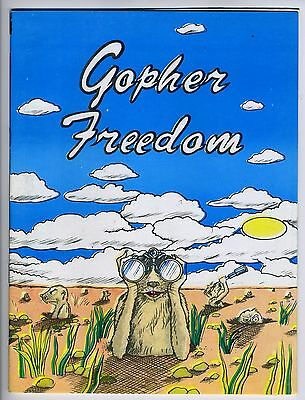 GOPHER FREEDOM COMIX #1 - 1st printing - Tough to find!