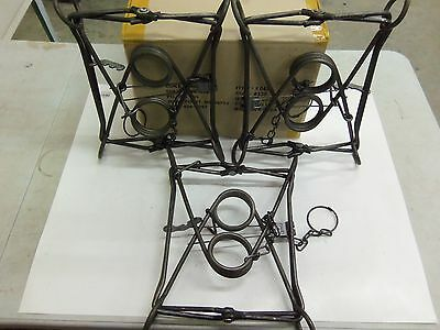 3  Duke 330 Body Grippers Trap  Trapping  Beaver Otter Coyote 0430