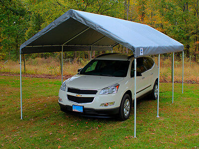 King Canopy Drawstring Cover 10' x 20' Silver TDS1020S New