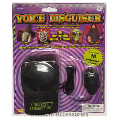 A441 Voice Changer Disguiser Effects Microphone Sound Box Costume Accessory