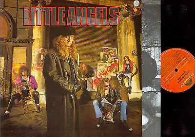 LP- Little Angels ‎– Young Gods--OIS--POLYDOR NL