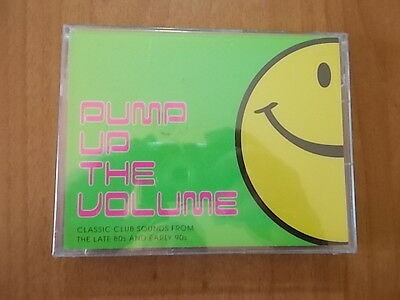 box 2 musicassette nuove PUMP UP THE VOLUME 2001