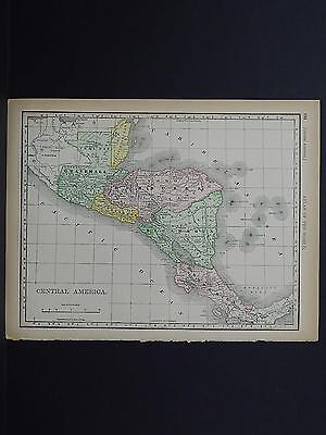 Antique Map 1894, M4#61 Southern Portion of South America, Single Sided