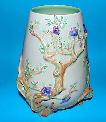 CLARICE CLIFF pottery C.1930's 'Cherry tree my garden' #989 1st Quality (6591)