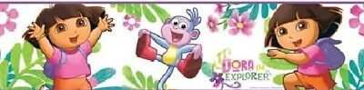 Dora the Explorer Peel and Stick Wall Border Sticker Applique Decal NEW SEALED